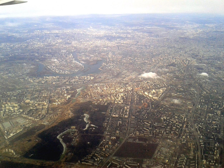 Москва - Нагатинская пойма