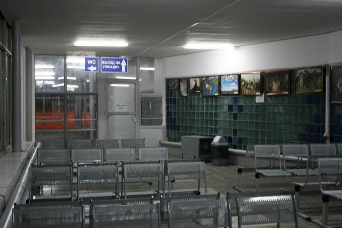 В аэропорту Ульяновск Баратаевка
