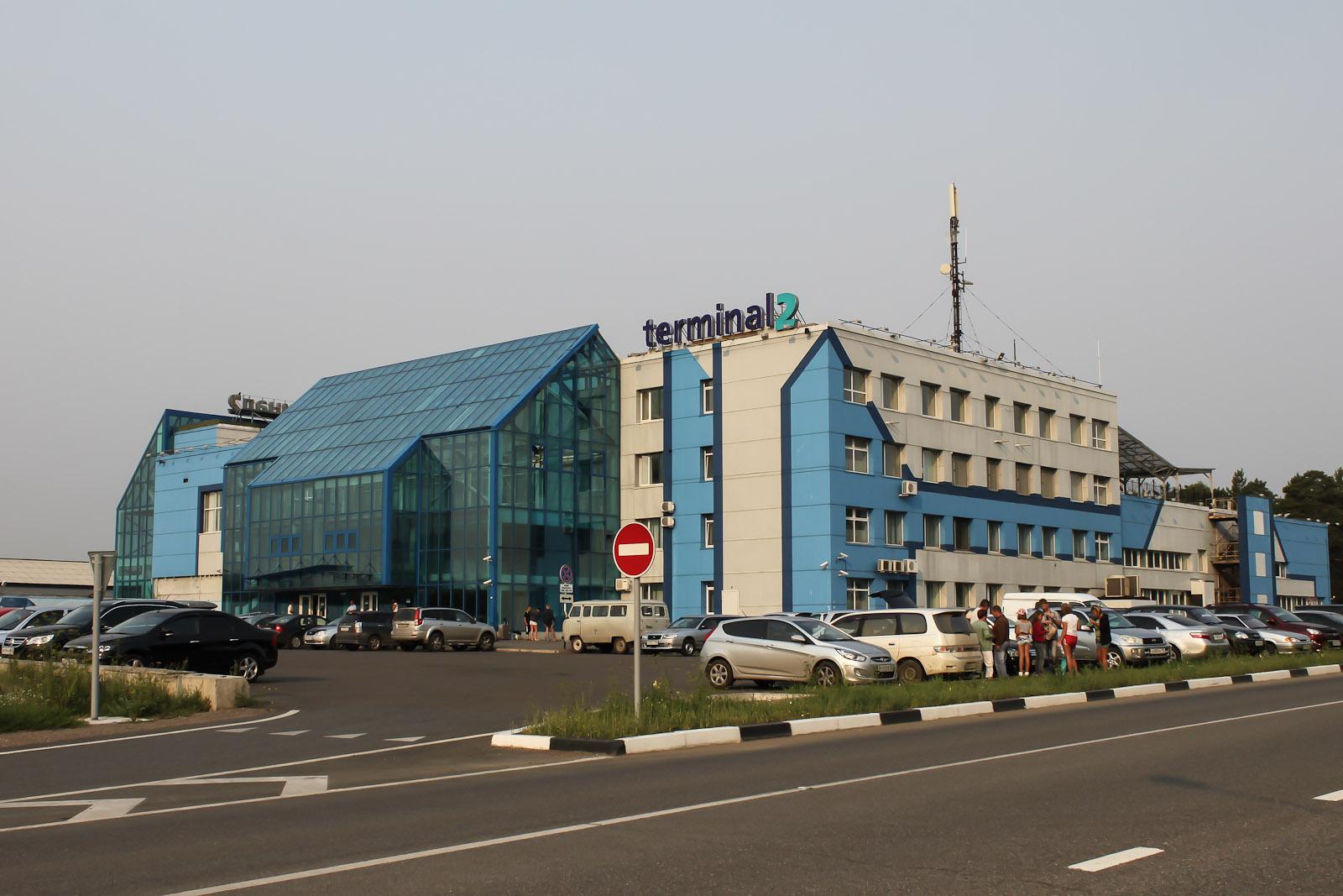 Терминал 2 международных авиалиний аэропорта Емельяново