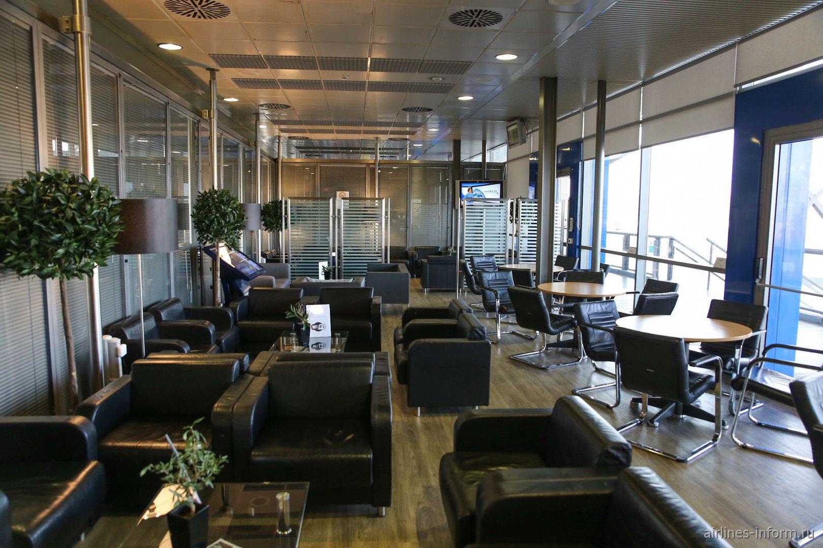 Бизнес-зал в аэропорту Салоники Македония