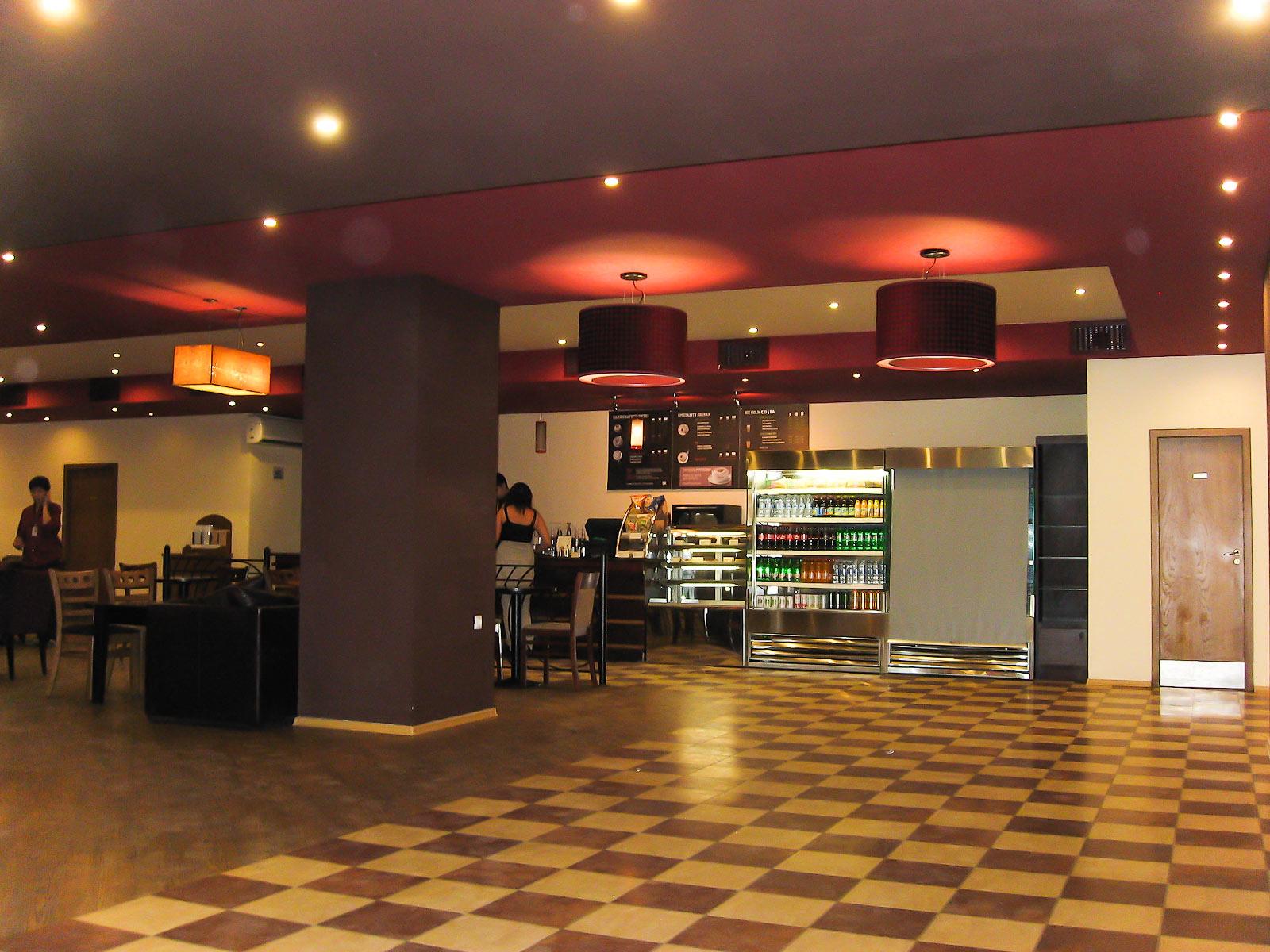 Кафе в аэропорту Бургас