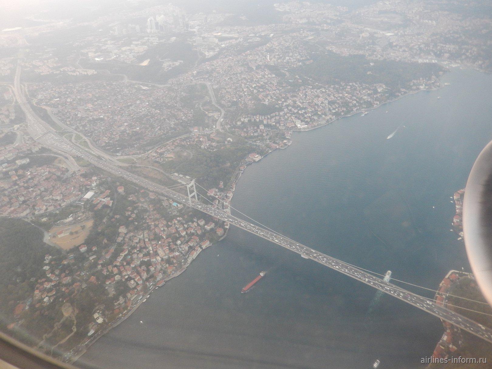 Мост над проливом Босфор