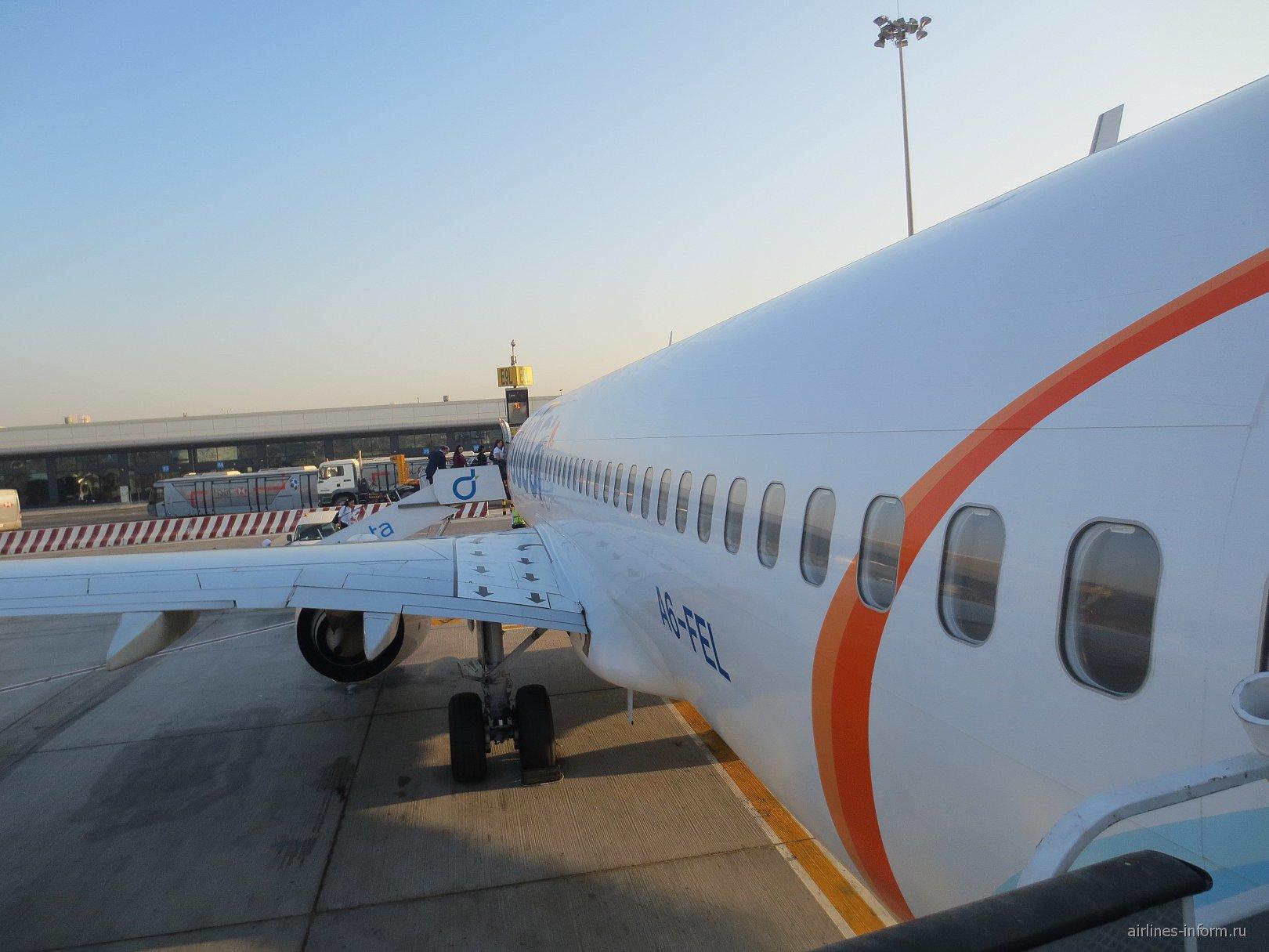 Боинг-737-800 авиакомпании Flydubai