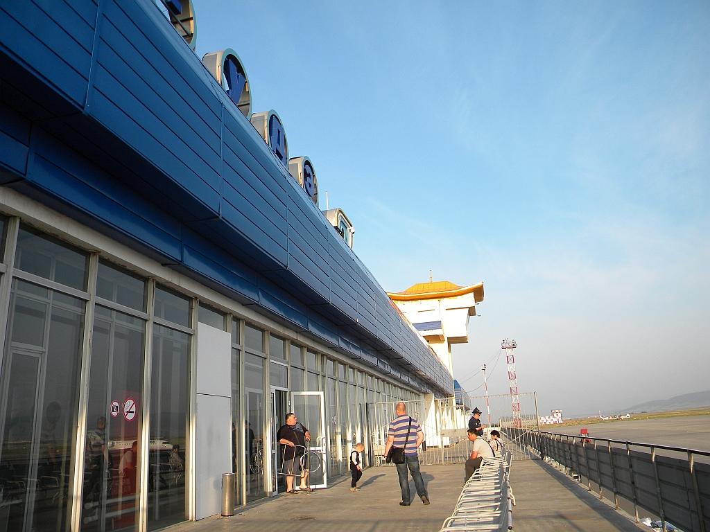 Открытая площадки в аэропорту Улан-Удэ