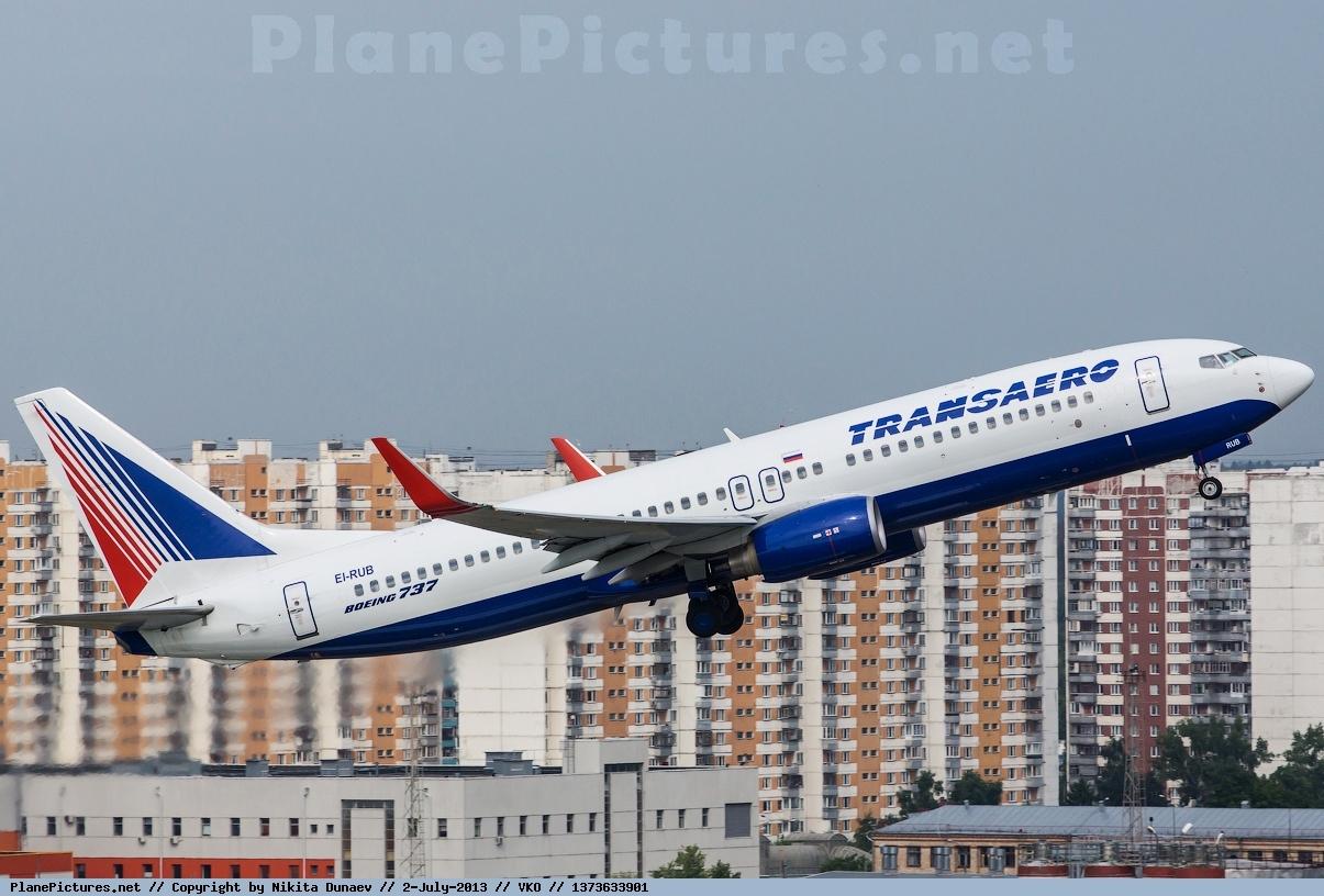 Боинг-737-800 авиакомпании Трансаэро