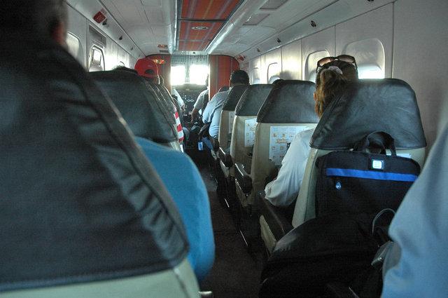 Passenger cabin of Dornier 228