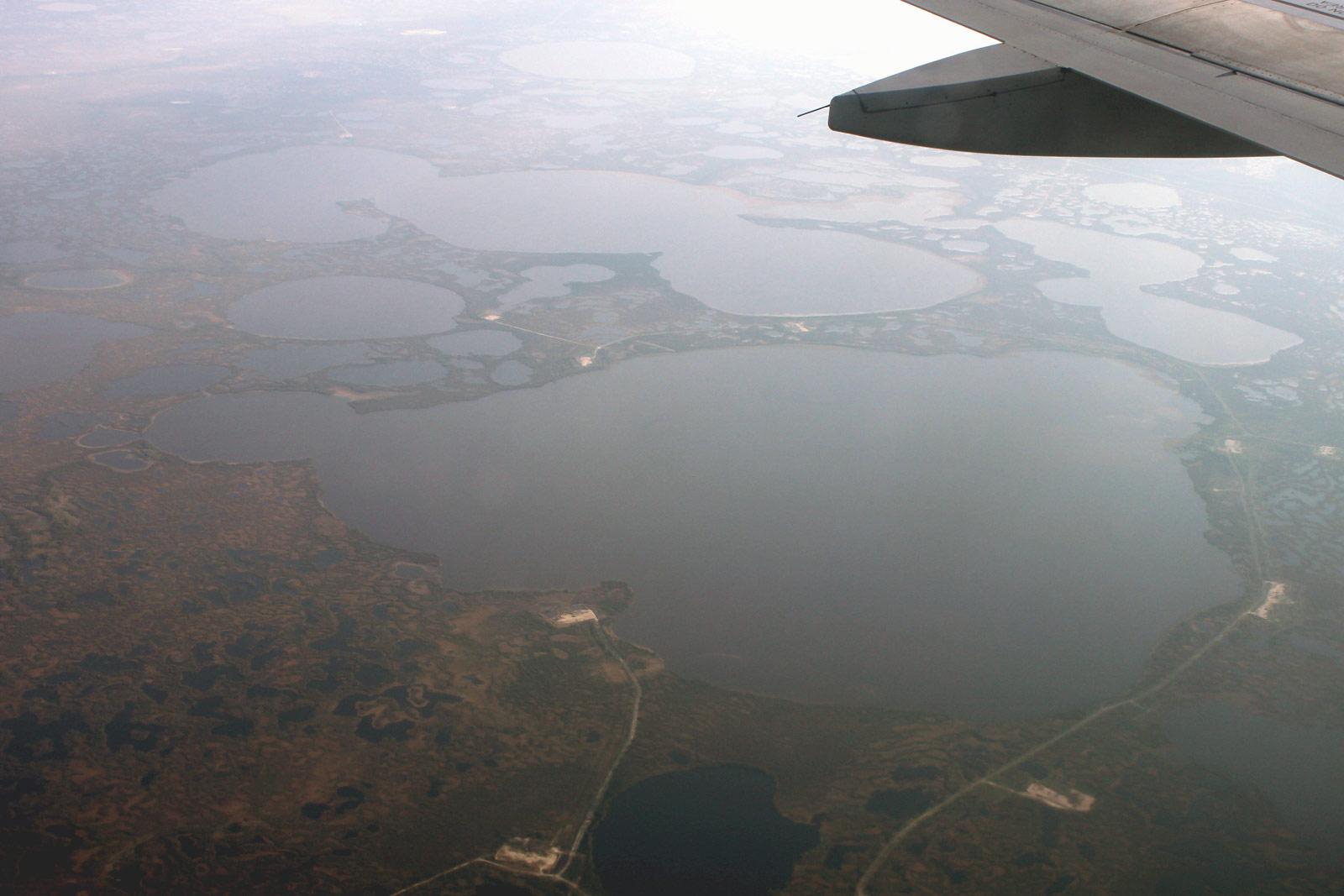 В полете над Западной Сибирью