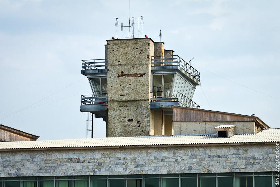 Диспетчерская вышка аэропорта Беслан во Владикавказе