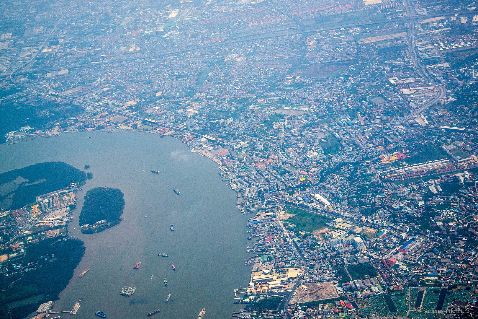 Река Квай в районе Бангкока