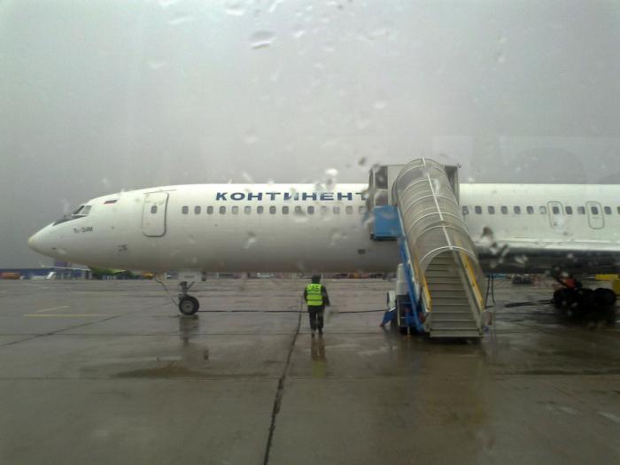 Ту-154 прилетел в Норильск