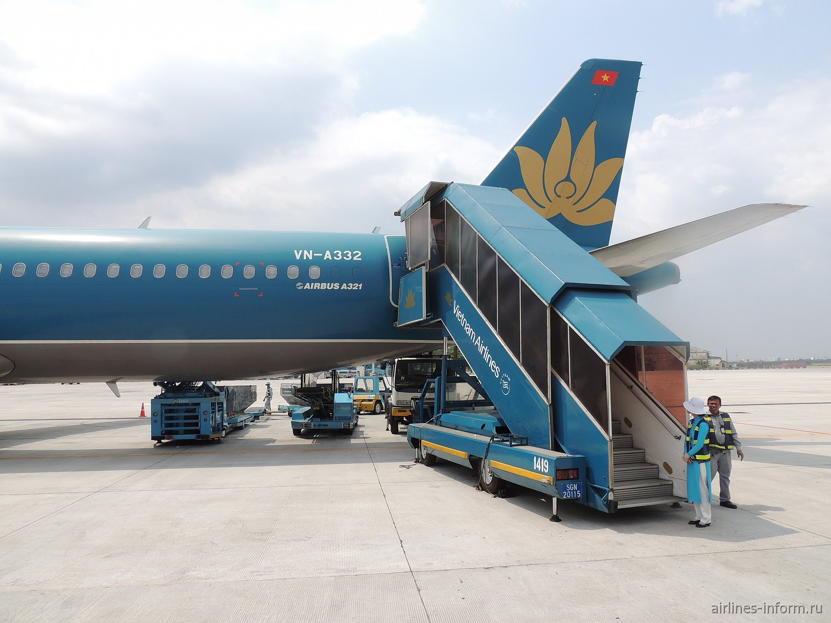 Бангкок - Хошимин с Vietnam Airlines