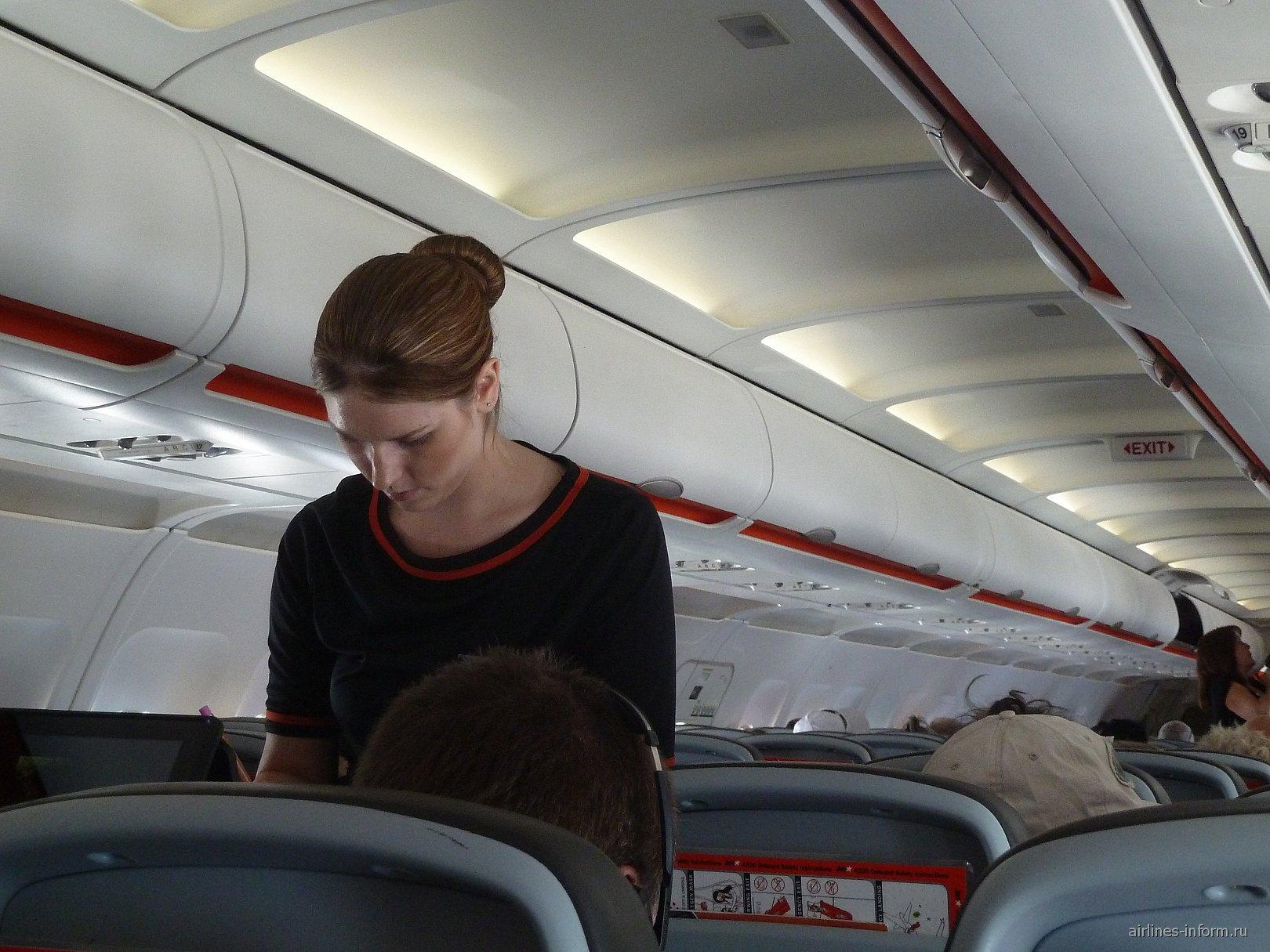 Бортпроводница авиакомпании JetStar Airways