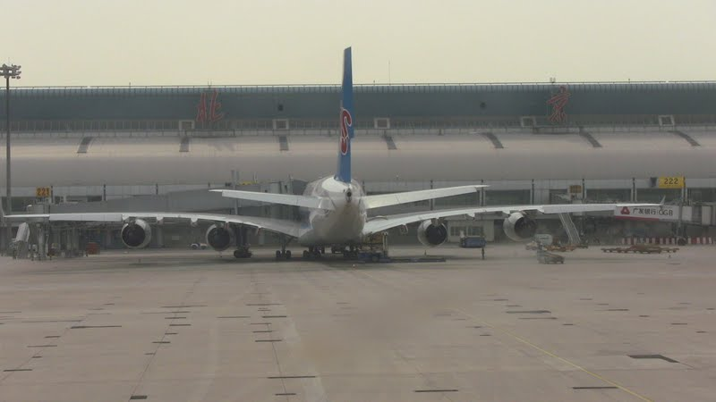 Airbus A380 China Southern Airlines в аэропорту Пекин
