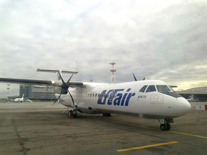С Ютэйром из Москвы в Ульяновск на ATR-42