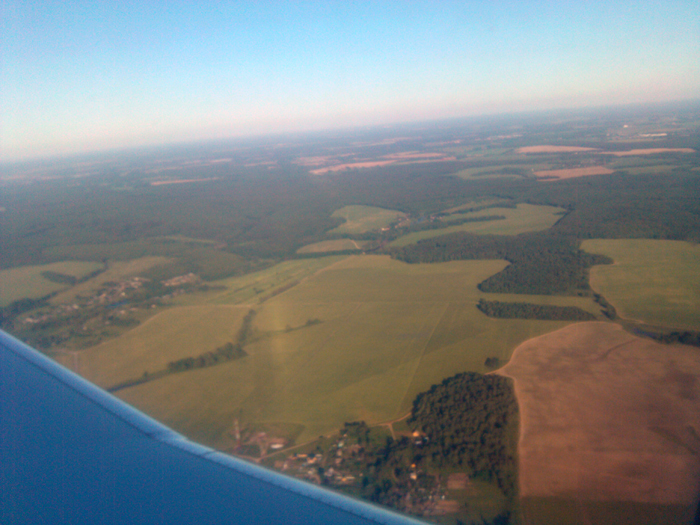 Рейс Уфа-Москва авиакомпании Ямал