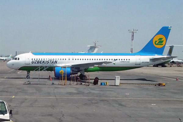 Полет из Алматы в Ташкент Узбекскими авиалиниями (бизнес-класс)