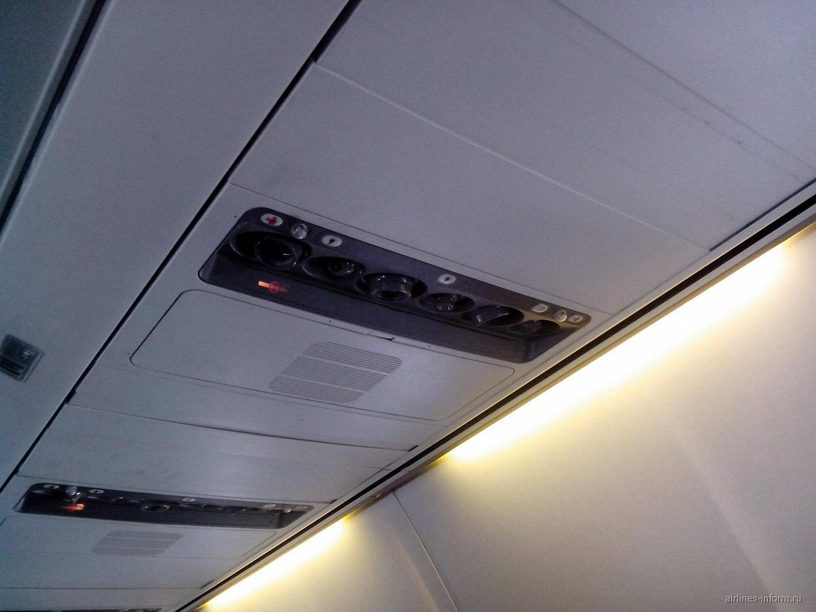 Салон Боинг-757-200 авиакомпании ЮТэйр