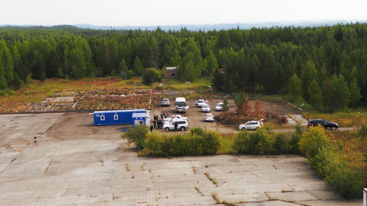 Пассажирский павильон аэропорта Усть-Илимск