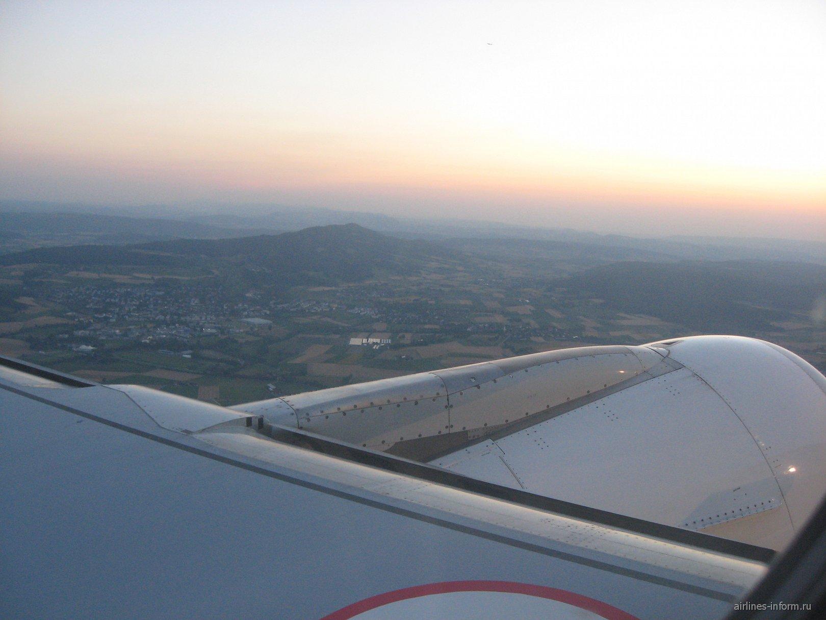 Во время взлета