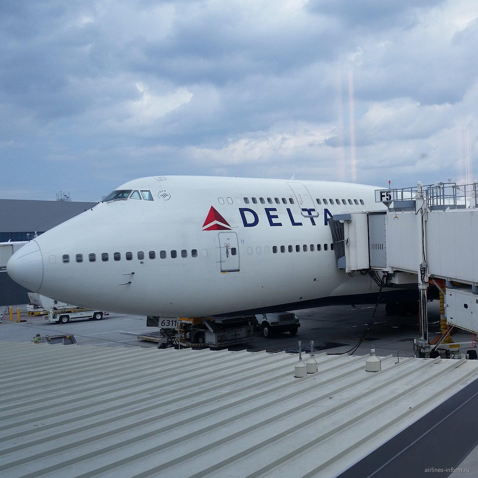 В аэропорту Атланты