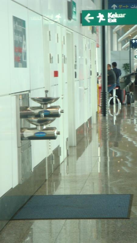 В аэропорту Куала-Лумпур