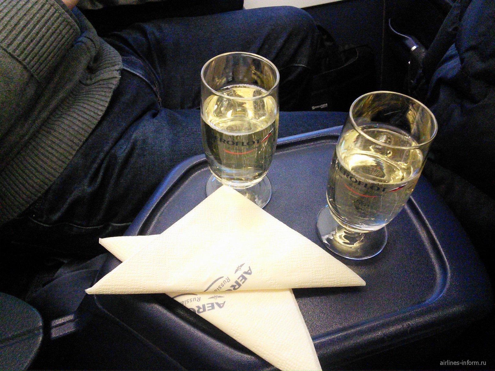"""Москва - Новосибирск """"Аэрофлотом"""" в бизнес-классе (28 декабря 2014)"""
