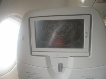 Система развлечений Airbus A320 авиакомпании Etihad