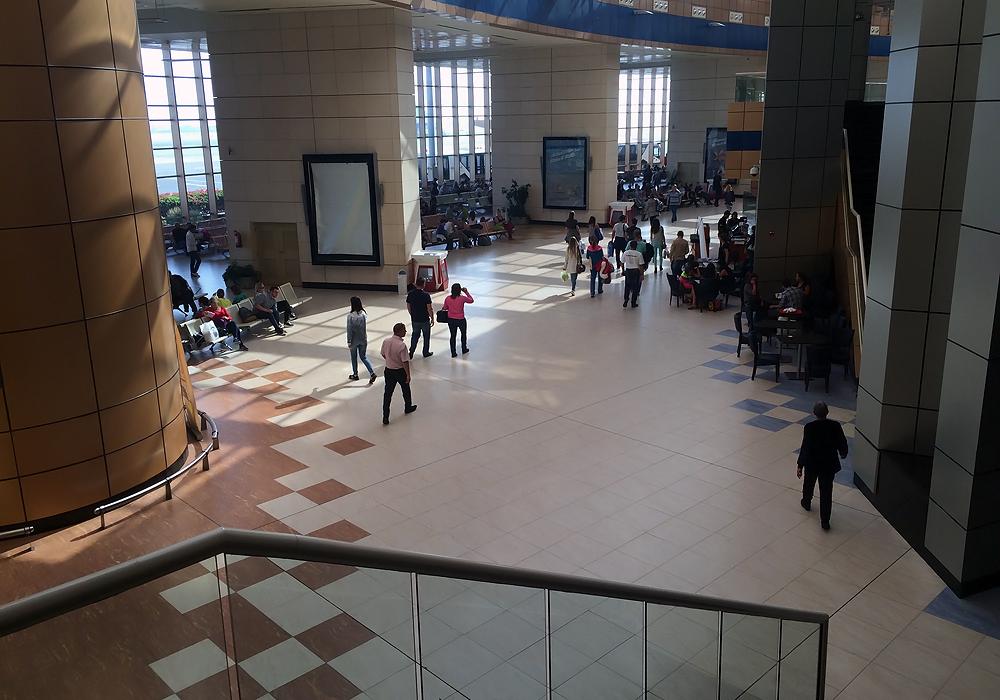 Чистая зона Терминала 1 аэропорта Шарм-Эль-Шейх