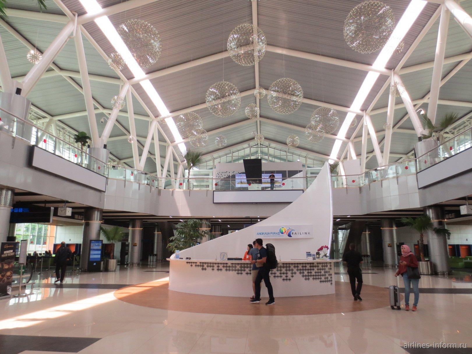 В терминале 2 аэропорта Джакарта Сукарно-Хатта