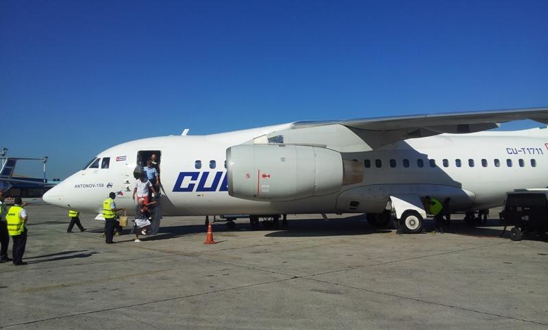 Самолет Ан-158 авиакомпаниии Кубана