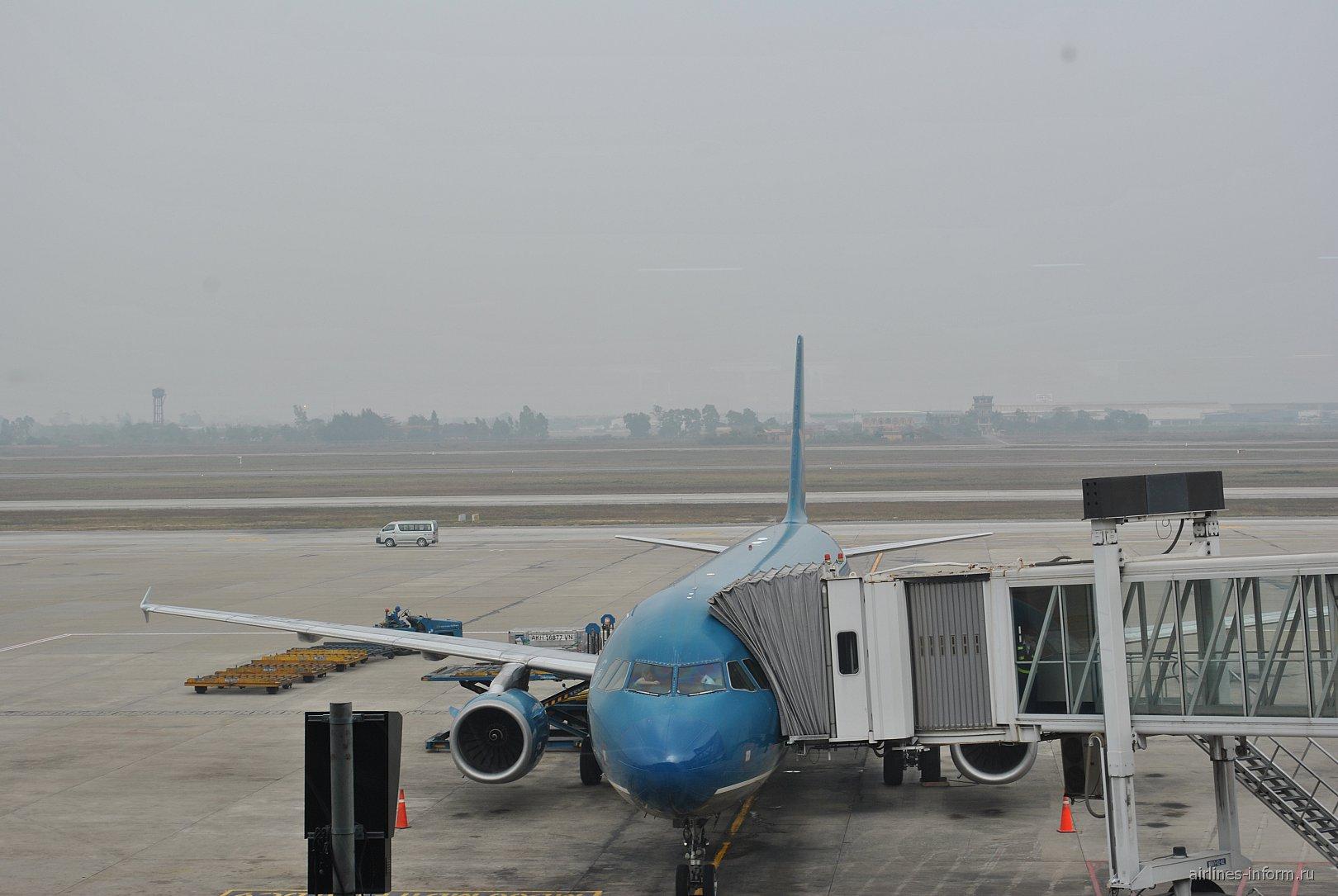 В аэропорту Ханой