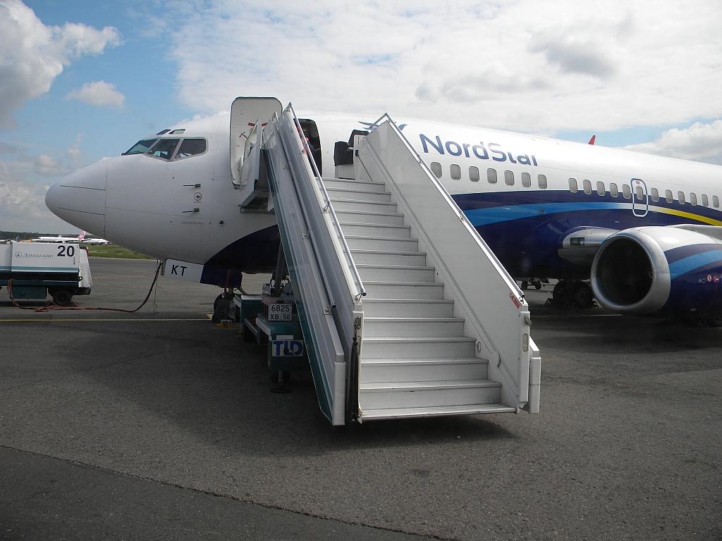Отпуск на Греческих островах, Домодедово - Закинф на Боинг-737-300 НордСтар