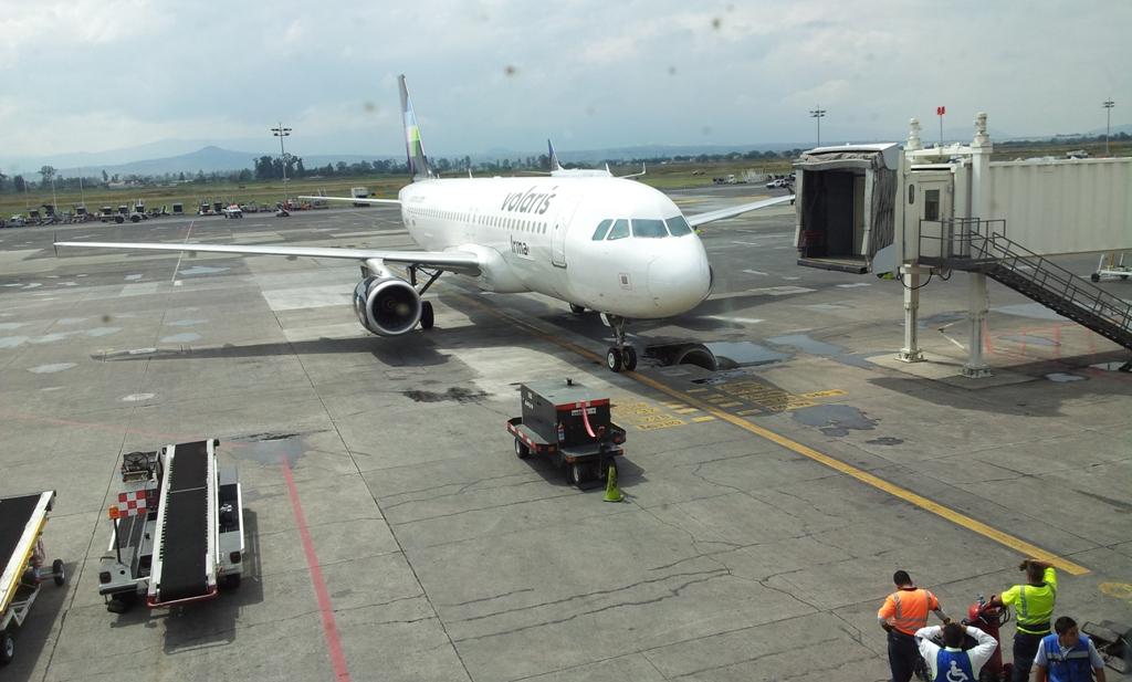 В аэропорту Гвадалахара