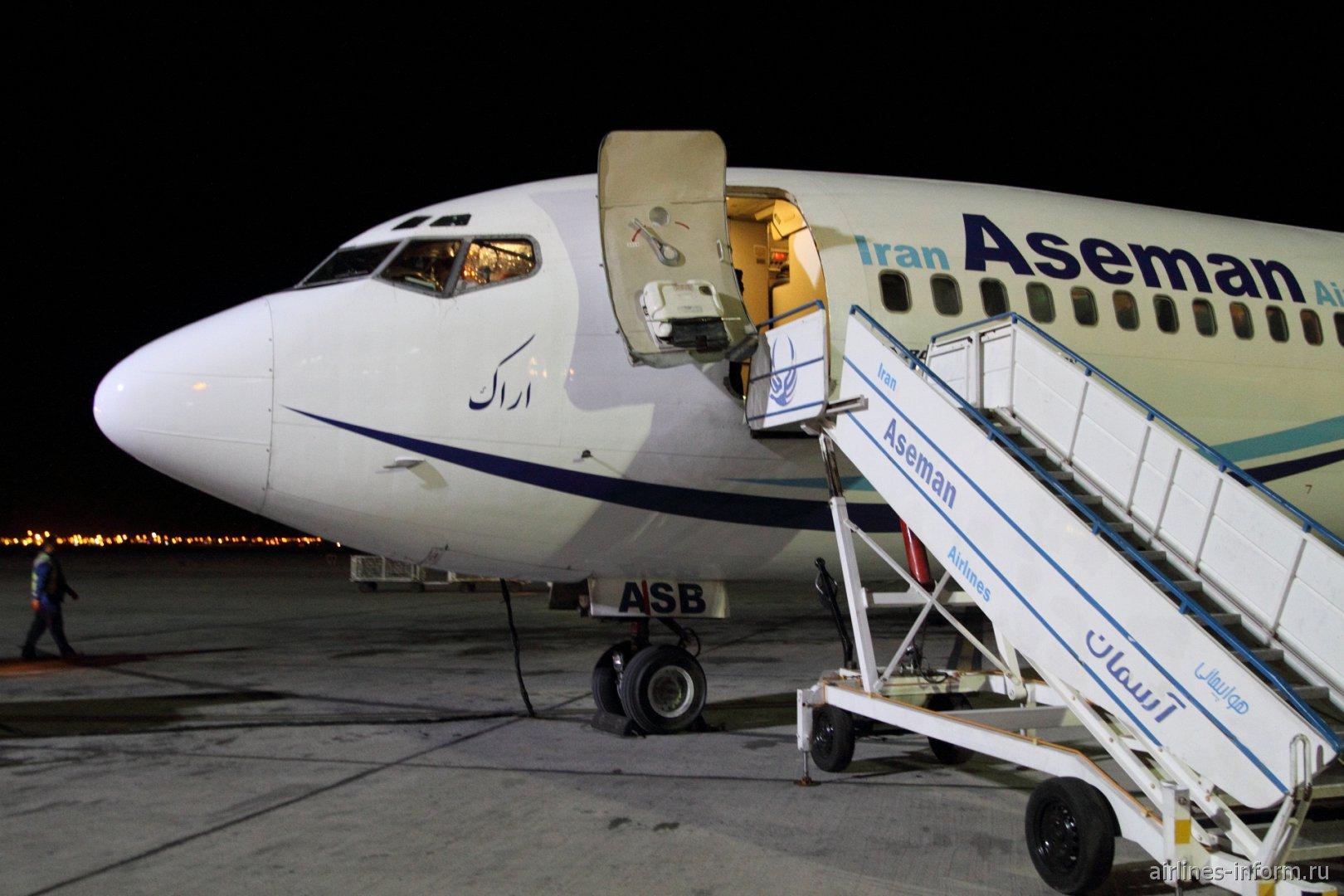 Тегеран-Язд на Boeing 727-200