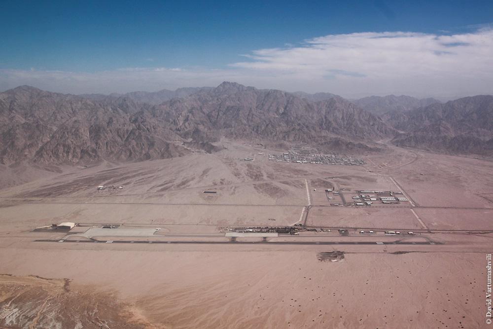 Международный аэропорт Короля Хуссейна в городе Акаба