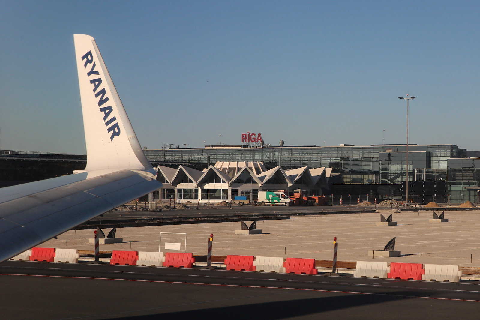 Ryanair в аэропорту Рига