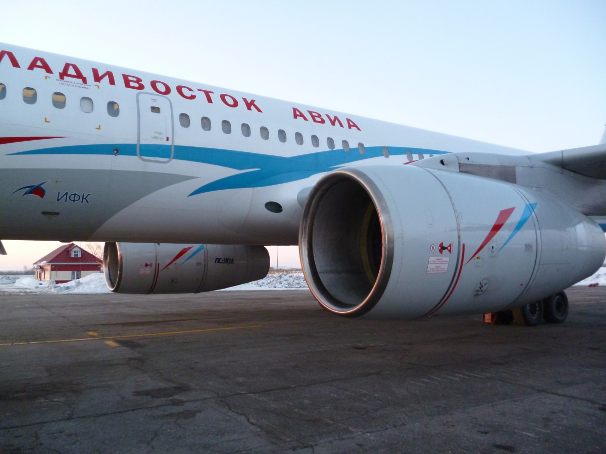 Khabarovsk-Vladivostok on a Vladivostok Air Tu-204-300