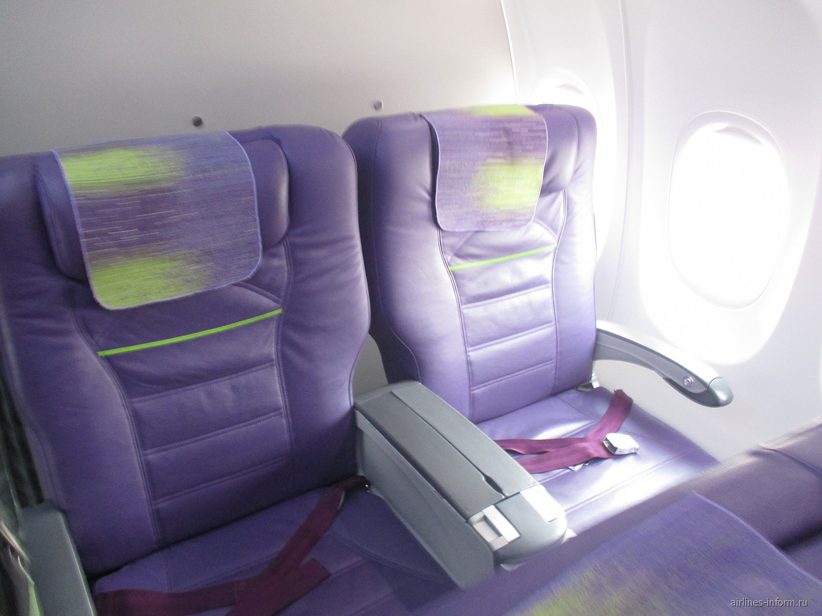 Бизнес-класс в Боинге-737-800 S7 Airlines