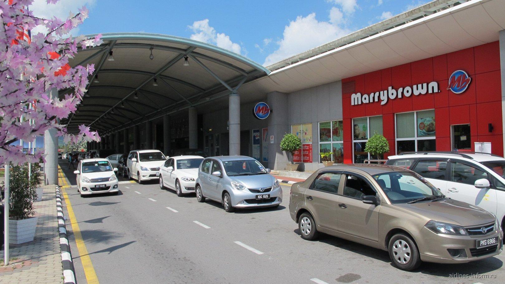 Выход из зоны прилета аэропорта Лангкави