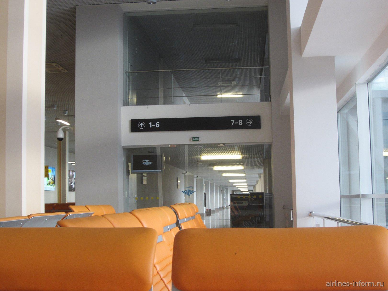 Выходы на посадку в аэропорту Екатеринбург Кольцово