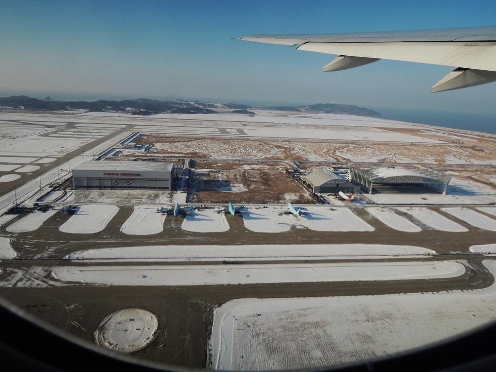 Взлет из аэропорта Сеул Инчхон