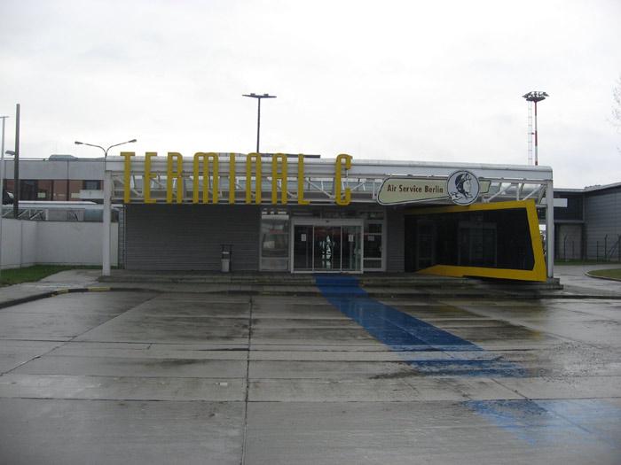 Терминал C аэропорта Берлин Шонефельд