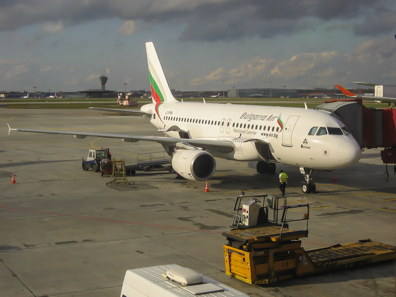 Airbus A319 Bulgaria Air