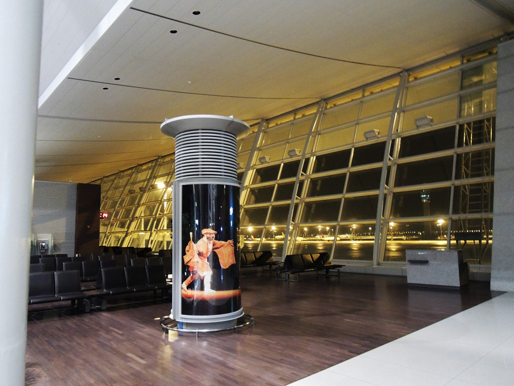 Зал ожидания в аэропорту Сеул Инчхон