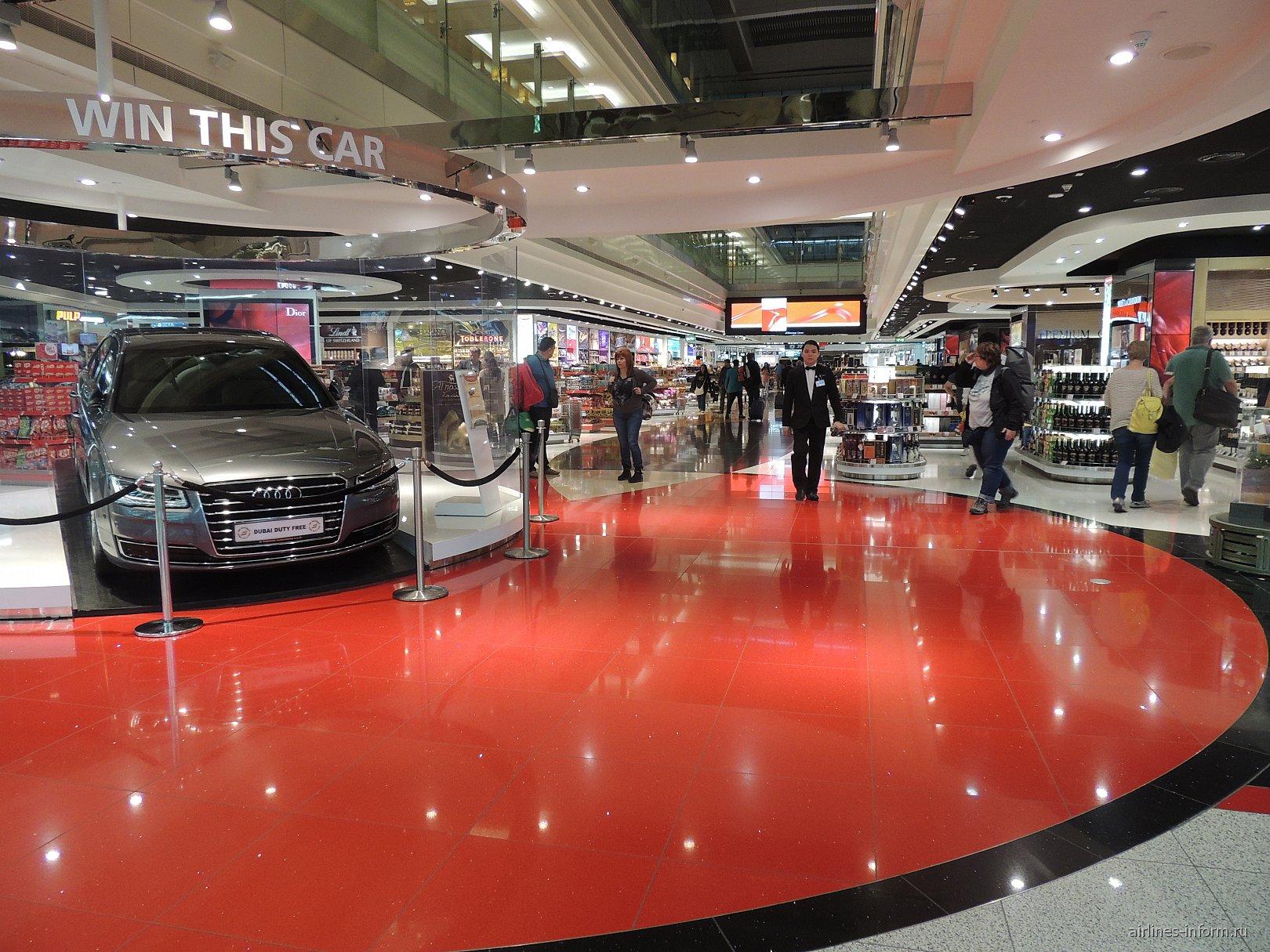 Магазины в терминале 3 аэропорта Дубай