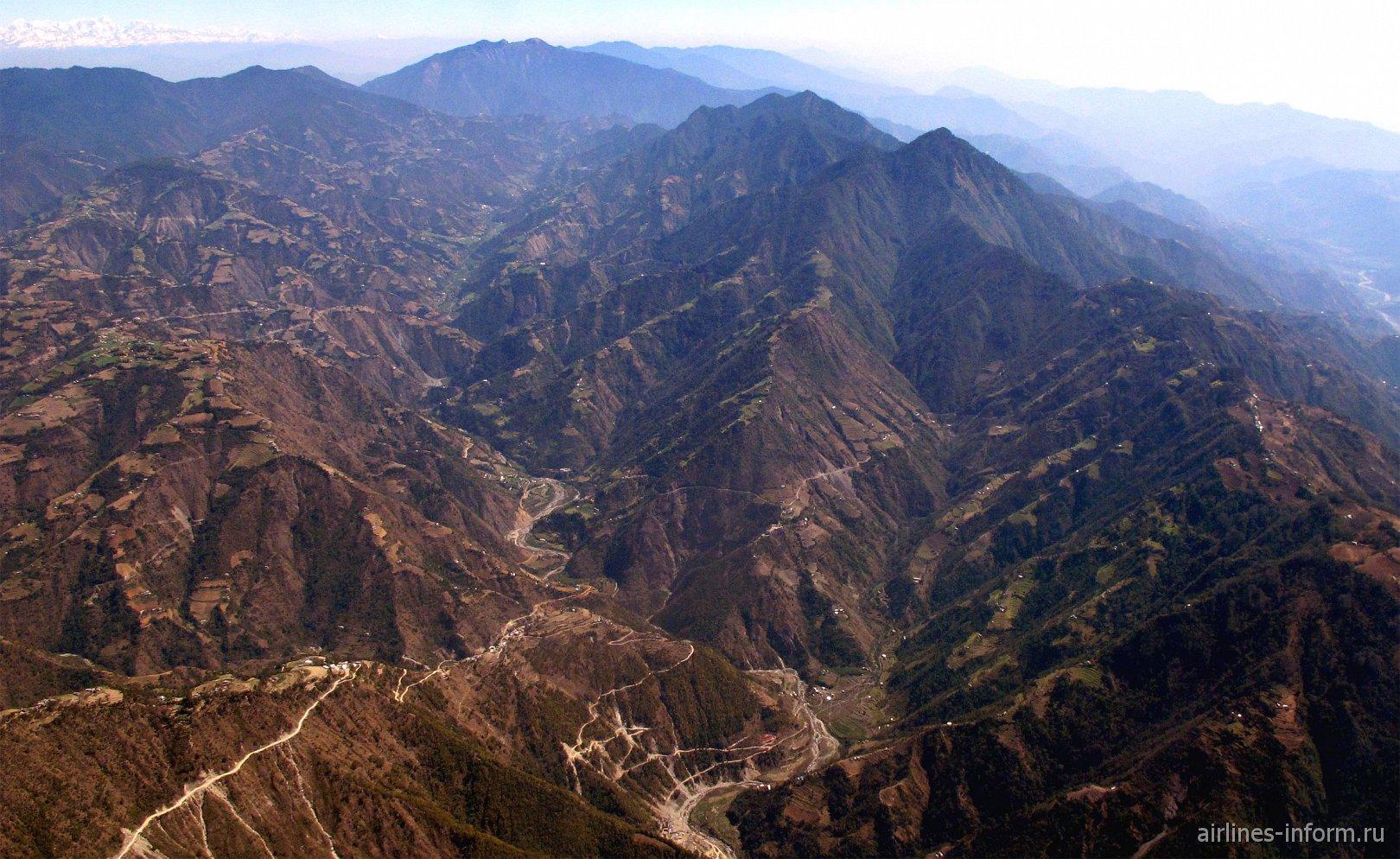 Гималайские горы в Непале