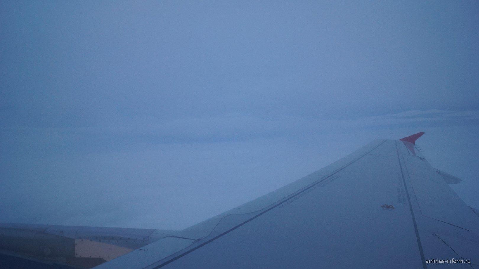 Рейс Аэрофлота Осло-Москва