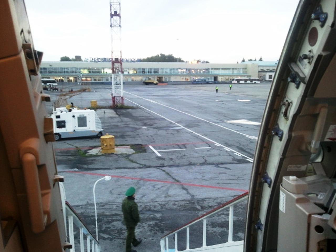 В аэропорту Челябинск Баландино