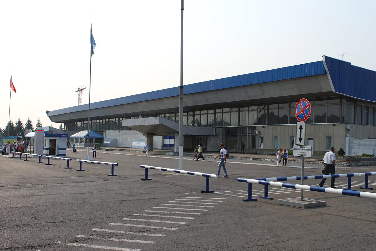 Терминал 1 аэропорта Емельяново