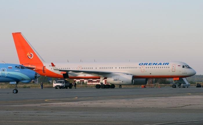 Рейс Омск-Анталия с а/к ORENAIR